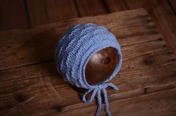 Blue wook bonnet