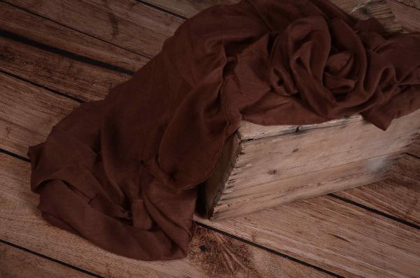 Brown muslin wrap