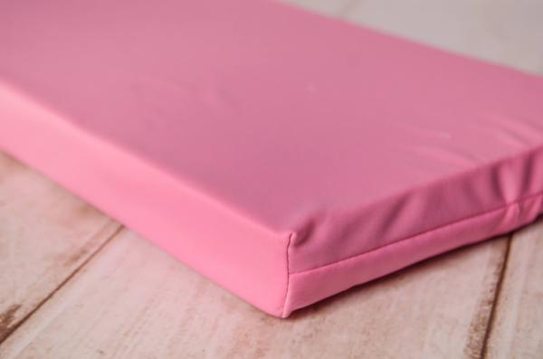 Mattress with pink cover