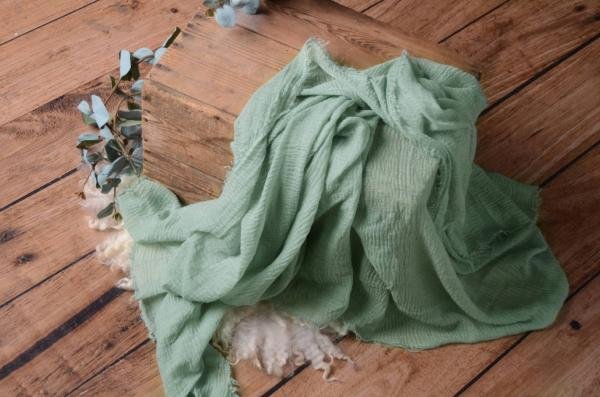 Light green cotton wrap