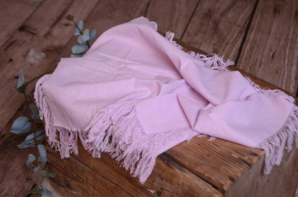 Lilac fringed little fabric