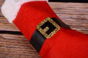 Santa Claus decorative sock