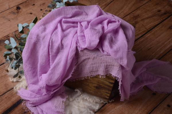 Lilac cotton wrap