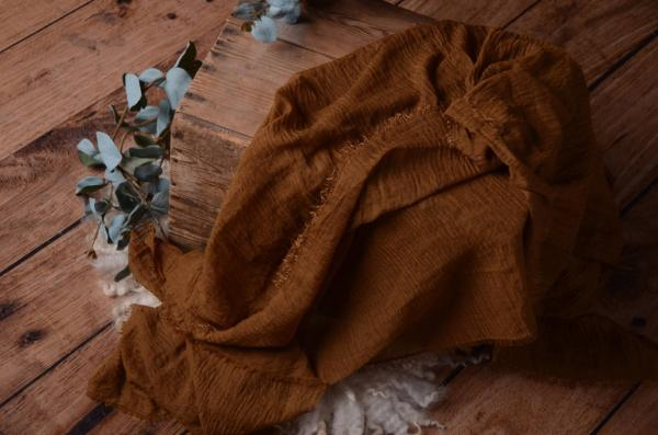 Brown cotton wrap