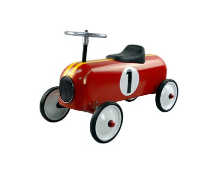 Red racing car 60 cm
