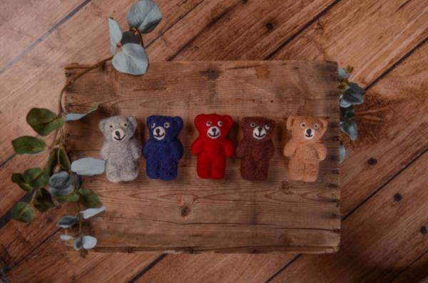 Pack five little stuff bears